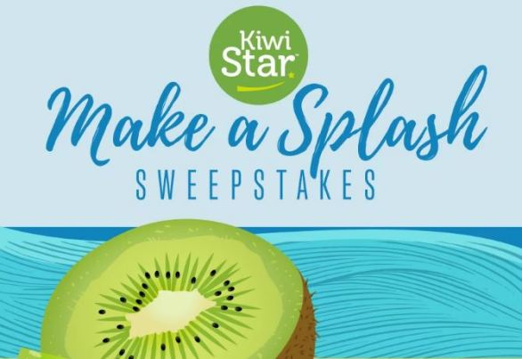 Kiwistar Make a Splash Sweepstakes
