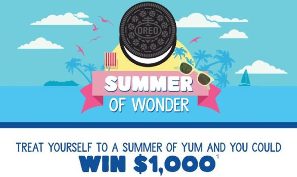 Oreo Summer of Wonder Sweepstakes