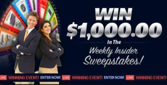 PCH $1,000 Weekly Insider Giveaway No  12615 (PCH com Sweepstakes)