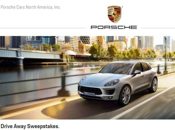 Porsche Mets Drive Away Sweepstakes