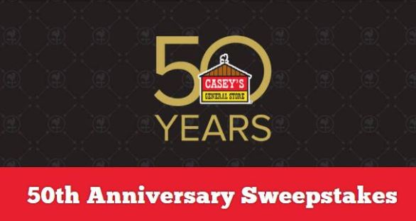 Casey's 50th Anniversary Sweepstakes
