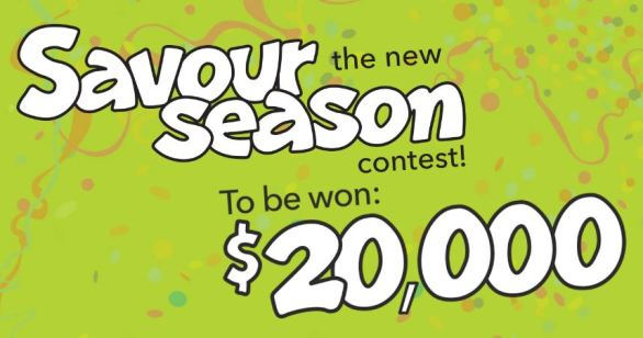 Chez Cora Savour the New Season Contest