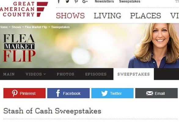 Great American Country Stash of Cash Sweepstakes