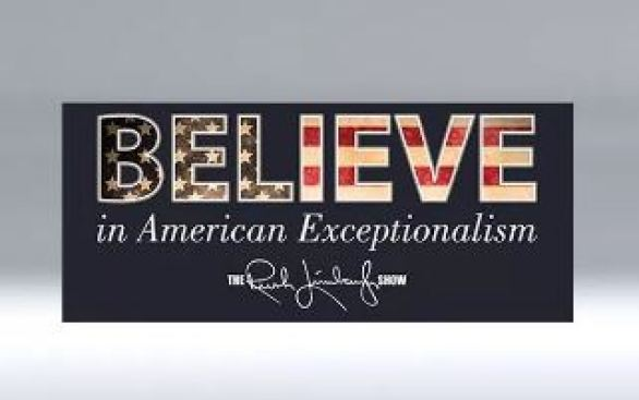 Rush Limbaugh Show Store's Believe in America Challenge Contest