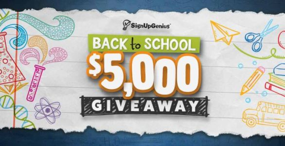 SignUpGenius Back to School Giveaway
