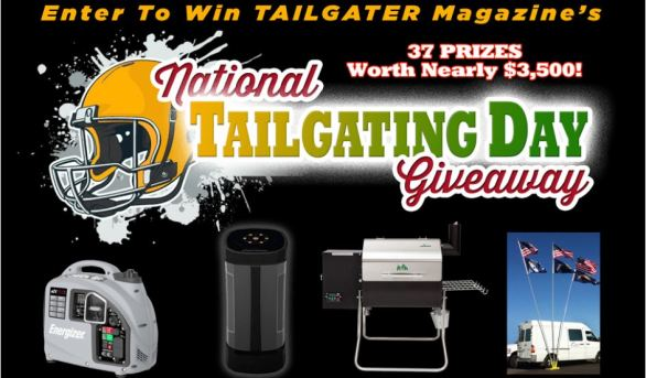 Tailgater Magazine National Tailgating Day Giveaway