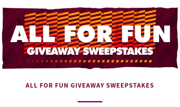 Cleveland NBA Cavaliers All for Fun Giveaway Sweepstakes