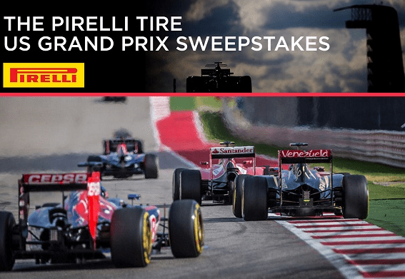 Dodgers Pirelli Tire US Grand Prix Sweepstakes