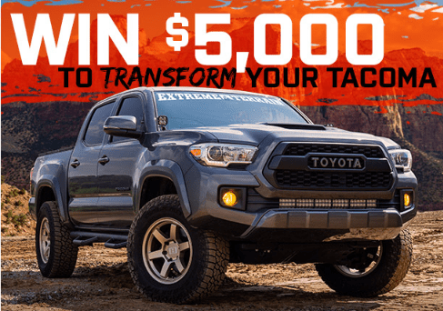 Extreme Terrain Transform Your Tacoma Giveaway