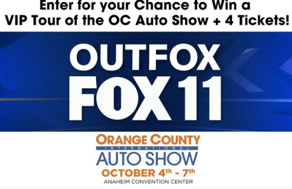 Foxla OC Auto Show Giveaway Contest