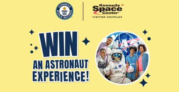 Guinness World Records Astronaut Experience Sweepstakes