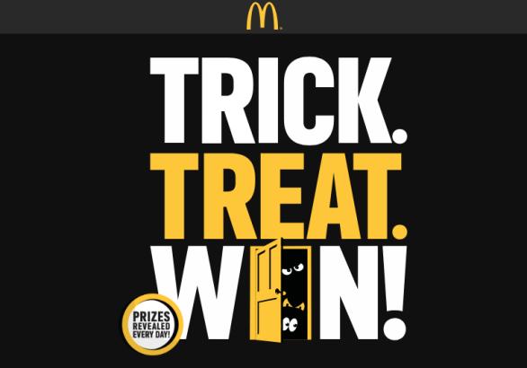 McDonald's Trick. Treat. Win Game