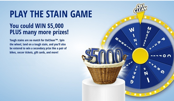 Oxiclean Stain Wheel Contest