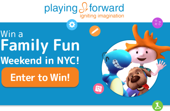 Playing Forward NYC Weekend Sweepstakes