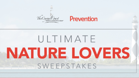 Prevention Crystal Coast Ultimate Nature Lovers Sweepstakes