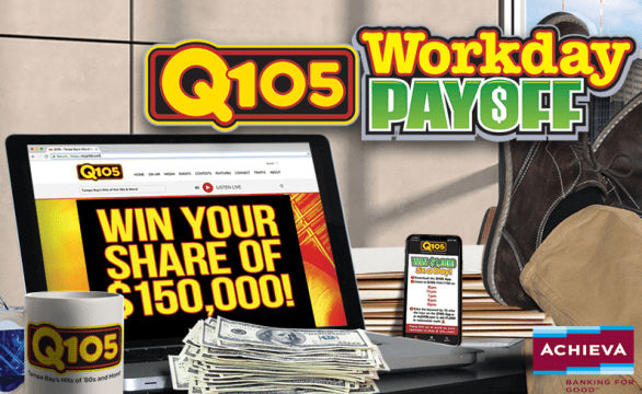 Q105 Workday Payoff Contest