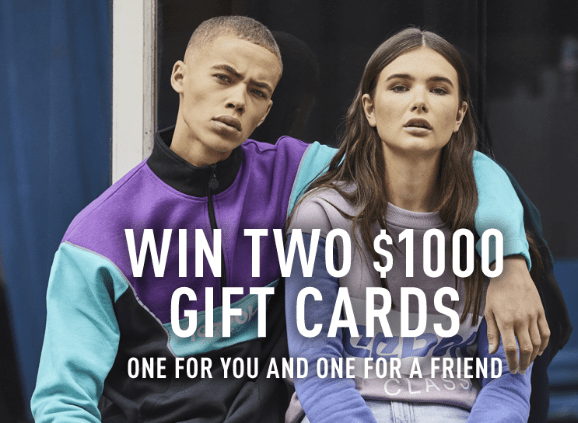 Reebok Classic & Crossfit $1000 Gift Card Sweepstakes