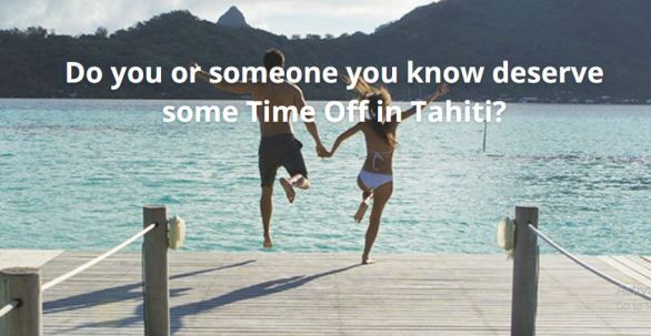 United Airlines Time Off in Tahiti Contest