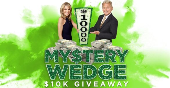 Wheel of Fortune Mystery Tenk Wedge $10K Giveaway