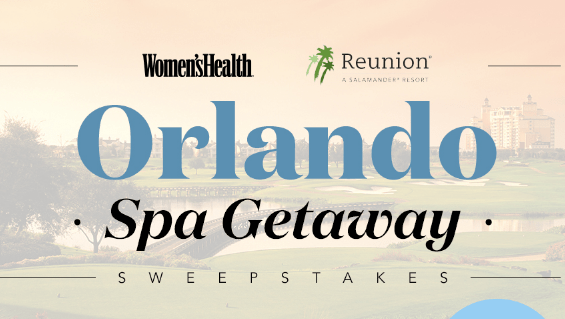 Women's Health Orlando Spa Getaway Sweepstakes