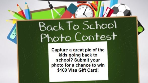 Wric.com Back to School Photo Sweepstakes Contest