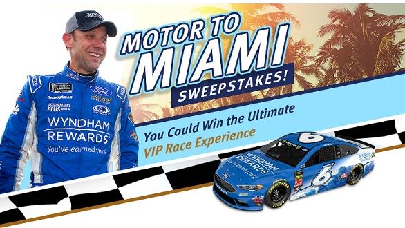 Wyndham Rewards Motor to Miami Sweepstakes