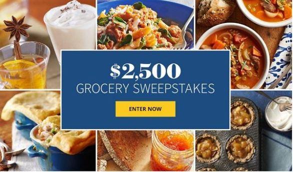 BHG $2,500 Grocery Sweepstakes
