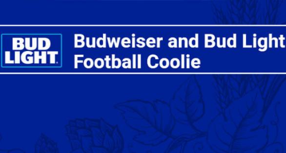 Bud Light Football Coolie Sweepstakes