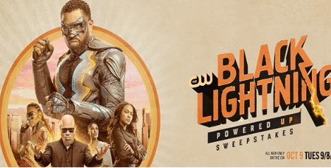 CW Black Lightning Powered Up Sweepstakes