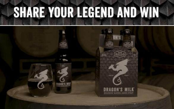 Dragon's Milk Share A Legend Contest