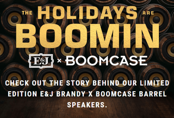 E & J Brandy Boomin Sweepstakes