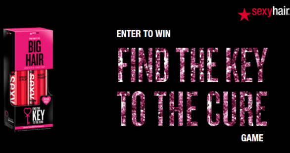 Find the Key to the Cure Instant Win Game