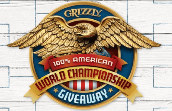 Grizzly 100% American World Championship Giveaway