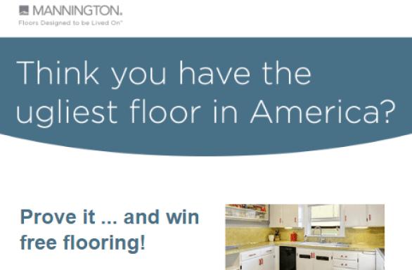 Mannington Ugliest Floor Contest