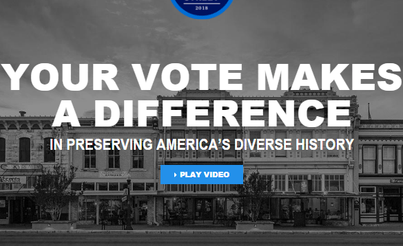National Geographic Vote Your Main Street Sweepstakes
