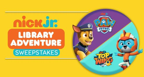 Nick Jr. Library Adventure Sweepstakes