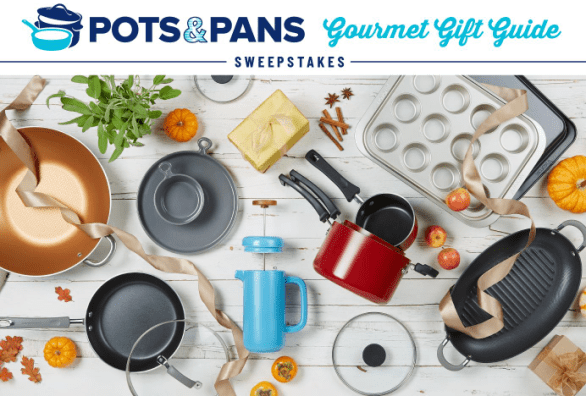 Pots and Pans Gourmet Gift Guide Sweepstakes