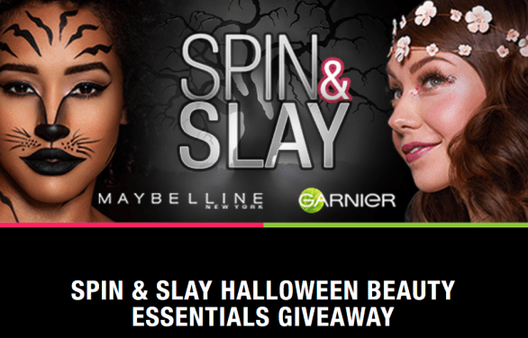 Spin & Slay Halloween Beauty Essentials Giveaway