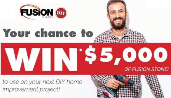 Win $5,000 of Fusion Stone Contest