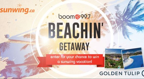 Boom 99.7 Beachin Getaway Contest