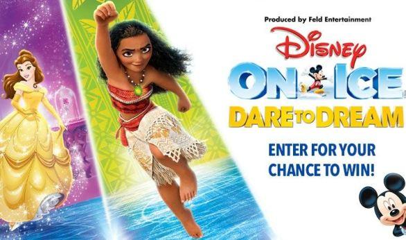 CBSLA Disney On Ice Dare to Dream Contest