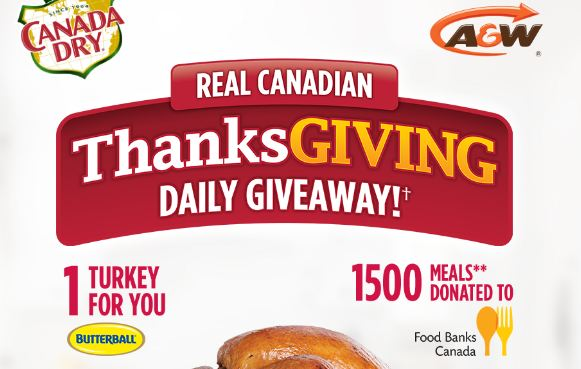 Canada Dry Real Canadian Thanksgiving Contest