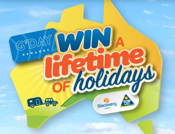 Gdayrewards Lifetime of Holidays Competition