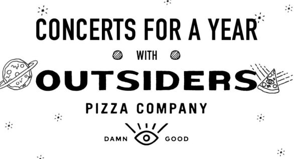 Live Nation Outsiders Pizza Sweepstakes