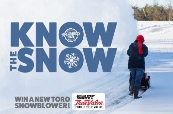 WKLH Snow Predictor Contest