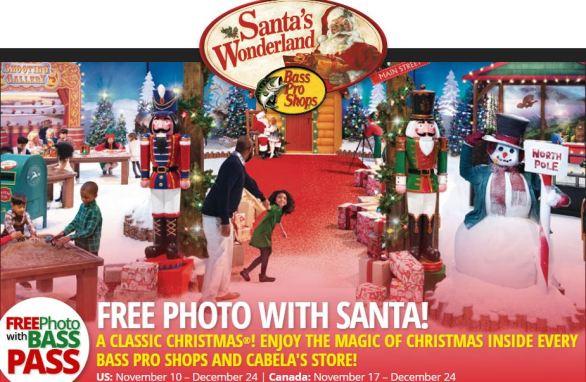 Bass Pro Santa's Wonderland