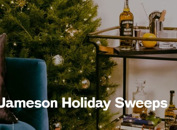 Jameson Holiday Sweepstakes