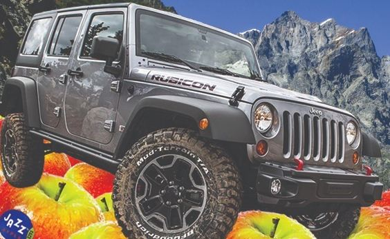 Jazz Apples Jazz'd Up Jeep Sweepstakes