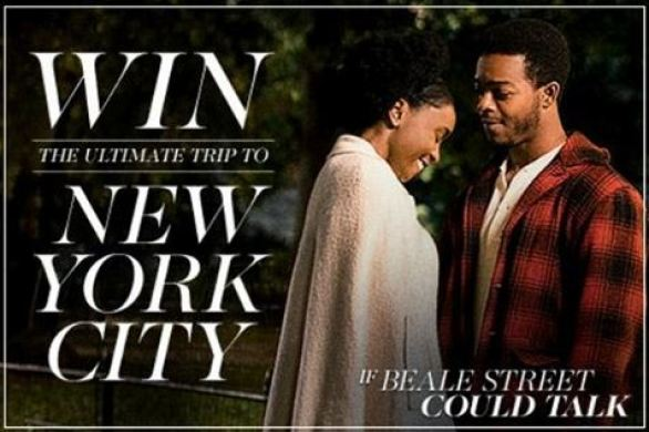 Landmark Theatres If Beale Street Could Talk Sweepstakes