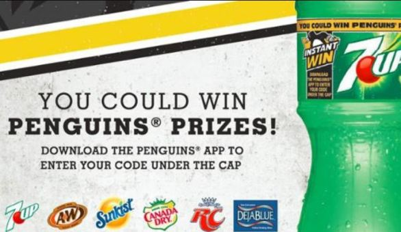 NHL Pittsburgh Penguins Instant Win Game Sweepstakes